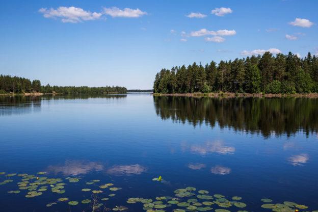 Finnland: Landschaft am Iijoki, Nordfinnland