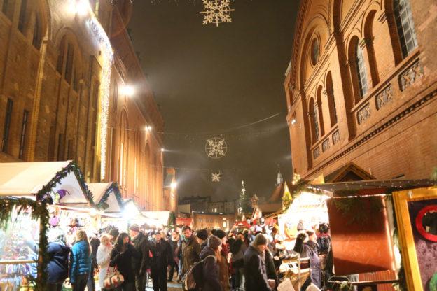 Nordischer Weihnachtsmarkt 'Lucia' in Berlin