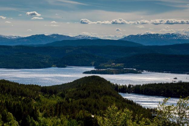 Norwegen: Landschaft bei Bolkesjø, Telemark