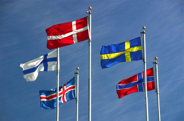 Nordische Länder –Glückliche Länder