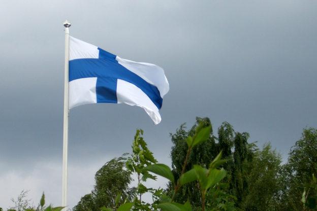 Finnland Fahne - die Finnische Flagge